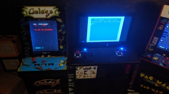 Galaga and Commodore 64 Mini