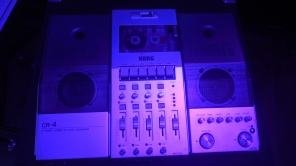 Korg CR-4 4 Track w/ Built In Effects and Amp Simulators